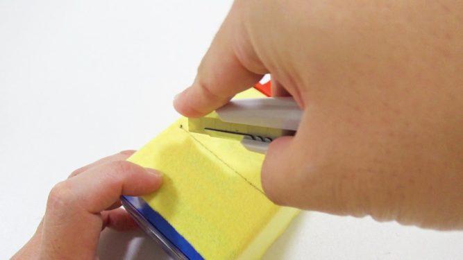 牛乳パック貯金箱作り方手順7