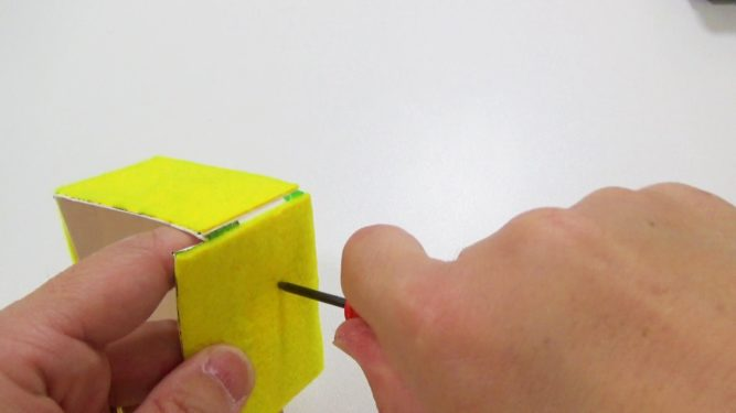 牛乳パック貯金箱作り方手順8