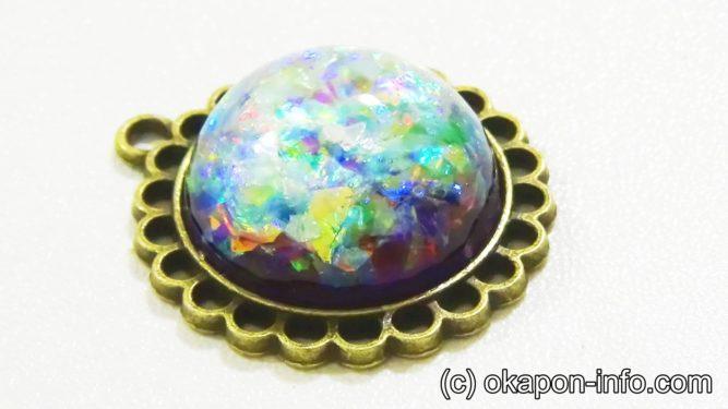 レジンで宝石の作り方手順5