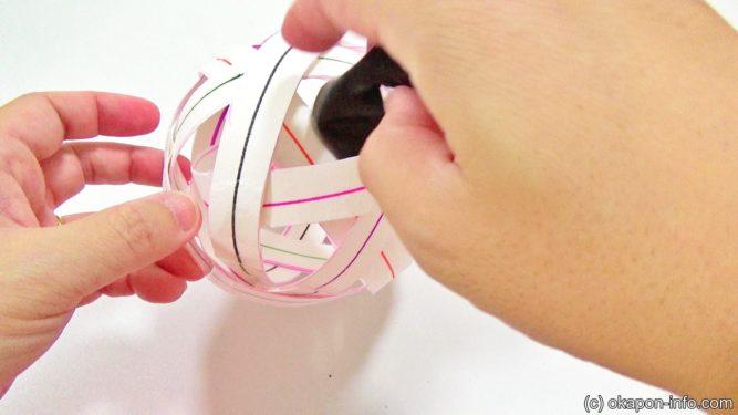 牛乳パックボールの作り方サッカー