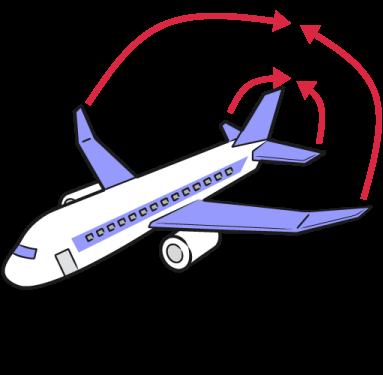 ストロー飛行機説明