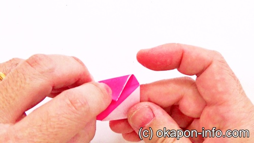 ストロー吹き矢の作り方手順2